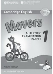 CAMBRIDGE YOUNG LEARNERS ENGLISH TESTS MOVERS 1 - ANSWER BOOKLET