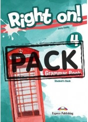 RIGHT ON! 4 GRAMMAR BOOK (+DIGIBOOK)