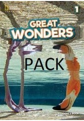 GREAT WONDERS 1 SB PACK (STUDENT'S + WORKBOOK + COMPANION)