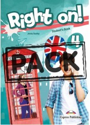 RIGHT ON! 4 JUMBO PACK (STK+WK+COMP.+GRAMMAR+READER+ieBOOK)
