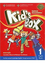 KID'S BOX 1 UPDATED 2ND EDITION PUPIL'S BOOK