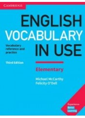 ENGLISH VOCABULARY IN USE ELEMENTARY W/A 3RD EDITION