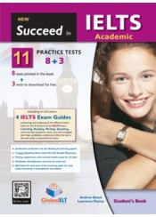 SUCCEED IN IELTS ACADEMIC NEW (8+3 PRACTICE TESTS) STUDENT'S BOOK
