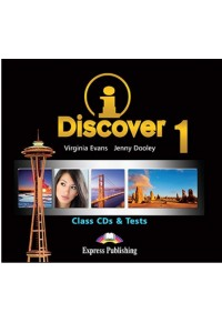 I DISCOVER 1 CD CLASS (+ TESTS)  9781471517693