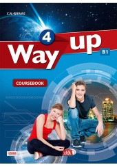 WAY UP 4 B1 - COURSEBOOK & WRITTING BOOKLET SET