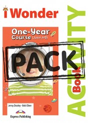 I WONDER JUNIOR A & B ONE - YEAR COURSE ACTIVITY BOOK WITH DIGIBOOK APP