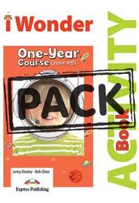 I WONDER JUNIOR A & B ONE - YEAR COURSE ACTIVITY BOOK WITH DIGIBOOK APP 978-1-4715-7946-2 9781471579462