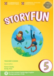 STORYFUN 5 TCHR'S (+DOWNLOADABLE AUDIO)