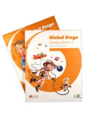 GLOBAL STAGE 4 LITERACY BOOK AND LANGUAGE BOOK (+ NAVIO)