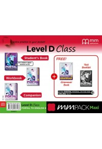 MM PACK MAXI LEVEL D CLASS - PORTAL TO ENGLISH 4 978-618-05-3618-8 9786180536188