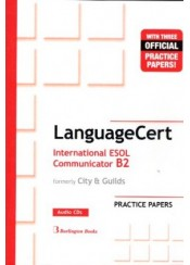LANGUAGECERT INTERNATIONAL ESOL COMMUNICATOR B2 PRACTICE PAPERS AUDIO CD's