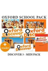 OXFORD DISCOVER 3 MIDI PACK + READER  5200419602108