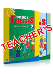 SUPER FRIENDS ACTIVITY BOOK 2 TEACHER' S - ΠΛΗΡΕΣ ΠΑΚΕΤΟ ΜΕ 2 AUDIO DISCS & DVD