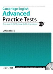 CAMBRIDGE ENGLISH ADVANCED PRACTICE TESTS 2015 - WITH KEY