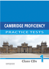 CAMBRIDGE PROFICIENCY PRACTICE TESTS 1 CLASS CD's