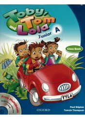 TOBY TOM AND LOLA JUNIOR A SB PACK + READER + CD-ROM