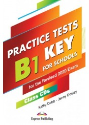 B1 PRELIMINARY FOR SCHOOLS PRACTICE TESTS CLASS CD'S