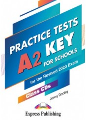 A2 KEY FOR SCHOOLS PRACTICE TESTS CLASS CD's