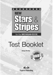 NEW STARS & STRIPES FOR THE MICHIGAN ECCE TEST BOOKLET REVISED 2021