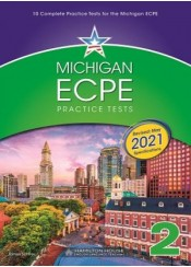 MICHIGAN ECPE PRACTICE TESTS 2 STUDENT'S BOOK AND GLOSSARY - MAY 2021 REVISED