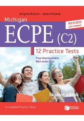 MICHIGAN ECCE (C2) 12 PRACTICE TESTS STUDENT'S BOOK