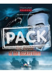 THE HOUND OF THE BASKERVILLES + DVD VIDEO-AUDIO CD -ILLUSTRATED READERS