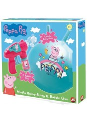 ΜΠΑΛΑ PEPPA BOING-BOING & BUBBLE GUN CARS