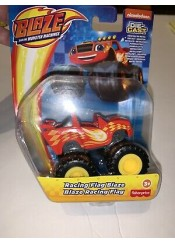 BLAZE AND THE MOSTERS MACHINES MATTEL - RACING GLAG ZEG - GVG61 ΚΟΚΚΙΝΟ