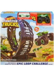 ΣΕΤ ΠΑΙΧΝΙΔΙΟΥ HOT WHEELS MONSTER TRUCKS EPIC LOOP CHALLENGE