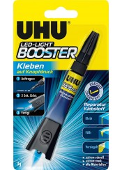 ΚΟΛΛΑ UHU BOOSTER LED - LIGHT 3g