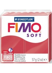 ΠΗΛΟΣ FIMO SOFT 57gr INDIAN RED (24)
