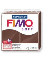 ΠΗΛΟΣ FIMO SOFT 57gr CHOCOLATE(75)