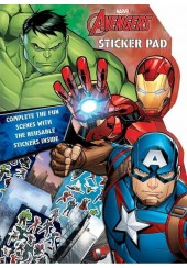 AVENGERS STICKER PAD