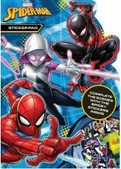 SPIDERMAN STICKER PAD