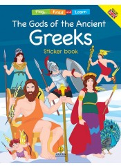 THE GODS OF THE ANCIENT GREEKS STICKER BOOK