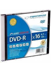 DVD-R 4.7GB 16X SLIM CASE - ESPERANZA