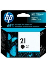 HP BLACK INK CATRIDGE No 21 5ML