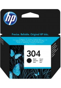 HP 304 BLACK INK CRTR  889894860750