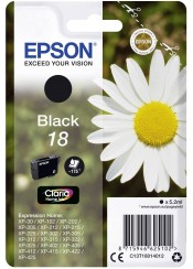 EPSON T180140 XP202 INK BLACK