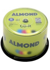 ALMOND CD-R 1-52X 700MB 50 ΤΕΜΑΧΙΑ