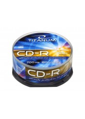 CD-R 700 MB TITANUM CAKE BOX 25 ΤΕΜ.