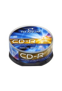 CD-R 700 MB TITANUM CAKE BOX 25 ΤΕΜ.  5905784760537