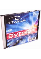 DVD-R 4,7 GB 16X TITANUM SLIM CASE