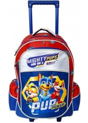 ΤΣΑΝΤΑ TROLLEY PAW PATROL MIGHTY PUPS