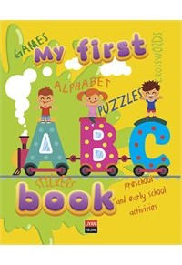 MY FIRST ABC BOOK WITH STICKERS 978-960-14-3440-7 9789601434407