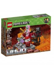 THE NETHER FIGHT - LEGO MINECRAFT 21139