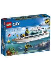 DIVING YACHAT LEGO CITY 60221