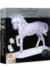3D CRYSTAL PUZZLE - ΑΛΟΓΟ ΔΙΑΦΑΝΕΣ 100 ΤΕΜ.