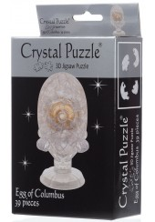 3D CRYSTAL PUZZLE - ΑΥΓΟ ΤΟΥ ΚΟΛΟΜΒΟΥ 39 ΤΕΜ.