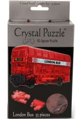 3D CRYSTAL PUZZLE - ΛΟΝΔΡΕΖΙΚΟ ΛΕΩΦΟΡΕΙΟ 53 ΤΕΜ.